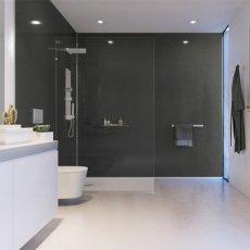 Showerwall Proclick MDF Shower Panel 600mm Wide x 2440mm High - Slate Grey
