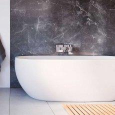 Showerwall Proclick MDF Shower Panel 600mm Wide x 2440mm High - Grigio Marble