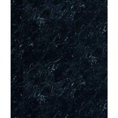 Showerwall Straight Edge Waterproof Shower Panel 900mm Wide x 2440mm High - Black Marble