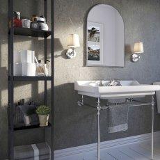Showerwall Proclick MDF Shower Panel 600mm Wide x 2440mm High - Zamora Marble