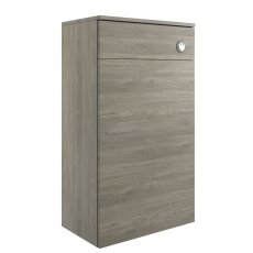 Signature Aalborg Back to Wall WC Toilet Unit 500mm Wide - Grey Nordic Wood