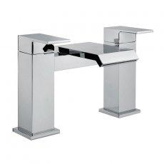 Signature Bloc Bath Filler Tap Deck Mounted - Chrome