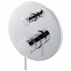 Signature Maira Manual Concealed Shower Valve with Diverter Single Handle - Chrome