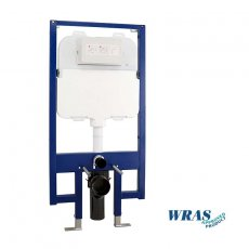 Signature Slimline 90mm WC Frame with Dual Flush Cistern 1180-1300 H