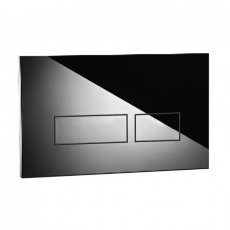 Signature Easi-Plan Trend 2S Dual Flush Plate - Polished Stainless