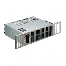Smiths Space Saver SS5 Plinth Mounted Dual Hydronic/Electric Plinth Fan Convector with Stainless Steel Grille