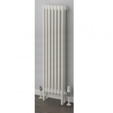 S4H Cornel Vertical 3 Column Radiator 1800mm H x 339mm W - White