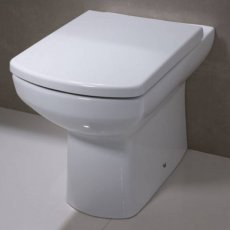 Tavistock Vibe Back to Wall Toilet WC 540mm Projection - Soft Close Seat