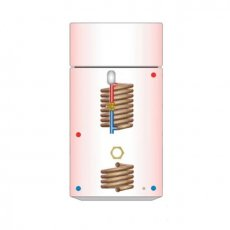 Telford Tristar Vented Thermal Store Combination Cylinder - Sealed Boiler Coil - 160 Litre