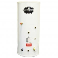 Telford Tornado 3.0 Stainless Steel Indirect Unvented Hot Water Cylinder 1800mm x 580mm 250 Litres