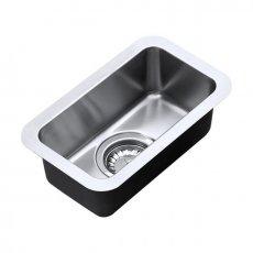 The 1810 Company Luxsoplusuno25 160U 1.0 Bowl Kitchen Sink - Stainless Steel