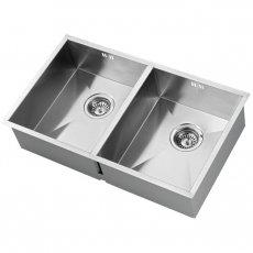 The 1810 Company Zenduo 340/340U 2.0 Bowl Kitchen Sink - Stainless Steel