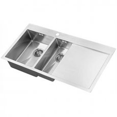The 1810 Company Zenduo15 6 I-F 1.5 Bowl Kitchen Sink - Left Handed