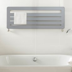 TRC BDO Athena Heated Towel Rail 540mm H x 1500mm W - White
