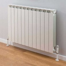 TRC Mix Radiator 390mm High x 980mm Wide, 12 Sections, White