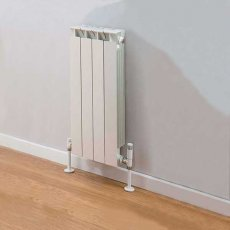 TRC Mix Radiator 390mm High x 340mm Wide, 4 Sections, White