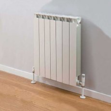 TRC Mix Radiator 390mm High x 580mm Wide, 7 Sections, White