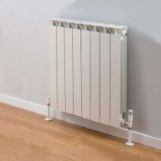 TRC Mix Radiator 390mm High x 660mm Wide, 8 Sections, White