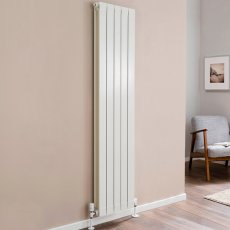 TRC Oscar Radiator 1046mm High x 420mm Wide, 5 Sections, White