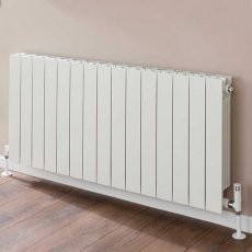 TRC VIP Radiator 440mm High x 1220mm Wide, 15 Sections, White