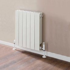 TRC VIP Radiator 440mm High x 500mm Wide, 6 Sections, White