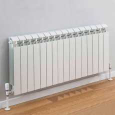 TRC Vox Radiator 440mm High x 1300mm Wide, 16 Sections, White