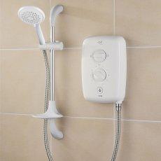 Triton T80gsi Electric Shower 9.5kW - White/Chrome