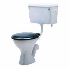 Twyford Classic Low Level Toilet with Bottom Inlet Lever Cistern - Excluding Seat
