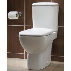 Twyford Moda Close Coupled Toilet WC Push Button Cistern - Standard Seat