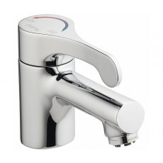 Twyford Sola Action Basin Mixer Tap - Chrome