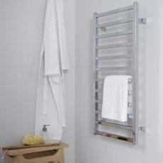 Ultraheat Karnak Straight Heated Towel Rail 1440mm H x 500mm W - Chrome