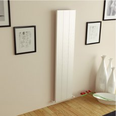 Ultraheat Porte Designer Vertical Radiator 1500mm H x 278mm W - White
