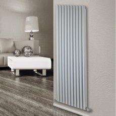 Ultraheat Visage Designer Vertical Radiator 1800mm H x 595mm W - White