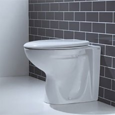 Verona Advantage Back to Wall Toilet WC 520mm Projection - Soft Close Seat