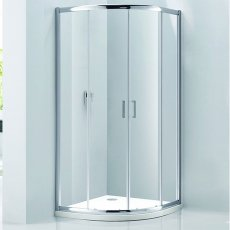 Verona Aquaglass Purity Quadrant Shower Enclosure 900mm x 900mm - 6mm Glass