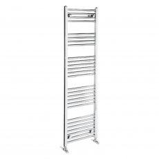 Verona Flat Designer Heated Towel Rail 1500mm H x 600mm W Chrome