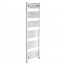 Verona Flat Designer Heated Towel Rail 1700mm H x 500mm W Chrome