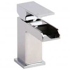 Verona Liberty Waterfall Mono Basin Mixer Tap - Chrome