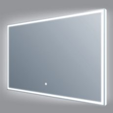 Verona Luxe LED Bathroom Mirror 600mm H x 800mm W with Touch Sensor and Demister