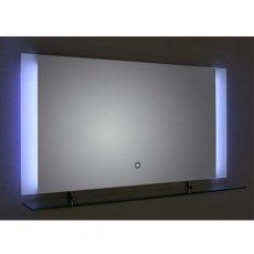 Verona Reflection Bathroom Mirror 450mm H x 850mm W LED Illuminated