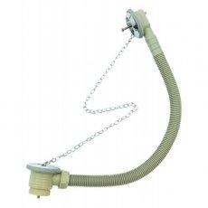 Verona Stowaway Bath Chain Waste with Plug