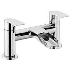 Verona Waterfall Bath Filler Tap - Deck Mounted
