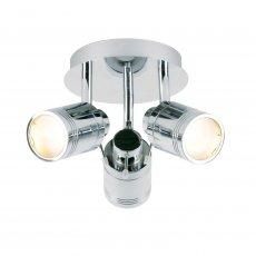 Verona Vivid 3 Light Spotlight 180mm High - Polished Chrome
