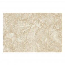 Verona PVC Ceiling and Shower Wall Panel Pack 4 Panels Per Pack - Travertine Marble Gloss