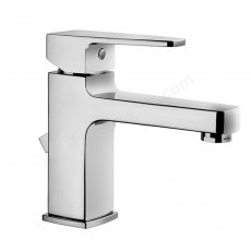 Vitra Q-Line Basin Mixer Tap with Pop Up Waste - Chrome