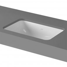 Vitra S20 Compact Under-Counter Basin 430mm Wide 0 Tap Hole
