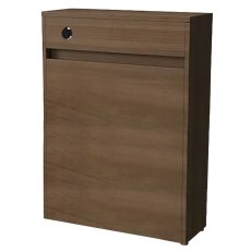Vitra S50 Floor-standing Back to Wall WC Unit With Concealed Cistern, 600mm Wide, Oak