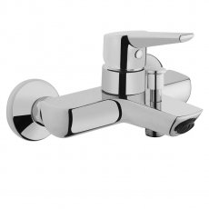 Vitra Solid S Wall Mounted Bath Shower Mixer Tap - Chrome
