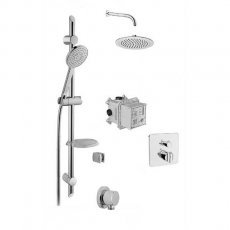 Vitra Suit Option 1 Concealed Mixer Shower with Shower Kit + Fixed Head