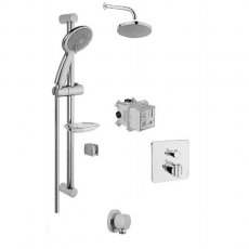 Vitra Suit Option 2 Concealed Mixer Shower with Shower Kit + Fixed Head
